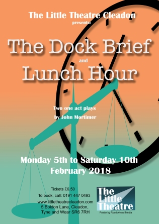 poster dock brief lunch hour